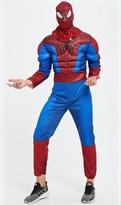 Костюм Человека-Паука (Spider-Man) для взрослых купить Москва