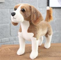 Мягкая игрушка собака Бигль 30 см купить в Москве