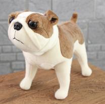 Мягкая игрушка Бульдог 30 см купить в Москве