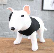 Мягкая игрушка собака Бультерьер 30 см купить в Москве