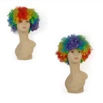 Парик Клоуна разноцветный купить Москва