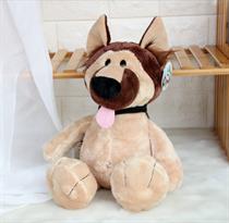 Мягкая игрушка собака Овчарка 45 см купить в Москве