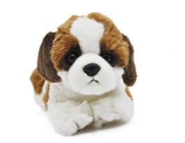Мягкая игрушка собака Сенбернар 25 см купить в Москве