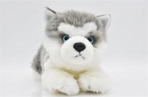 Мягкая игрушка собака Хаски 25 см купить в Москве