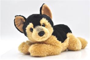 Мягкая игрушка собака Овчарка 25 см купить в Москве