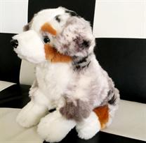 Мягкая игрушка собака Овчарка 27 см купить в Москве