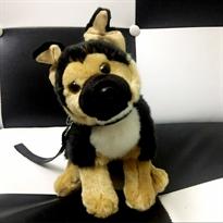 Мягкая игрушка собака Немецкая Овчарка 25 см купить в Москве