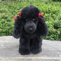 Мягкая игрушка собака Черный Пудель 32 см купить в Москве