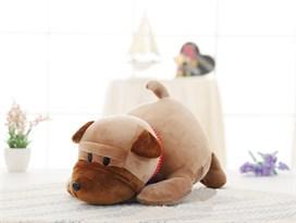 Мягкая игрушка Шарпей (Цвет Коричневый) 45см купить Москва