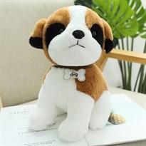 Мягкая игрушка Сенбернар 30см купить Москва