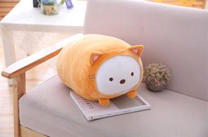 Мягкая игрушка подушка Широкума Сумико Гураши (Shirokuma Sumikko Gurashi) купить в Москве