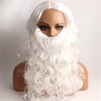 Парик и борода Деда Мороза купить Москва
