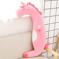 Игрушка подушка розовый Единорог 60 см купить в Москве