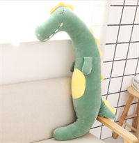 Мягкая игрушка подушка Динозавр 60 см купить в Москве