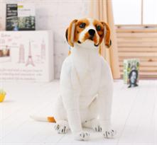 Мягкая игрушка собака Бигль 60 см купить недорого