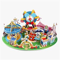 3D-пазл Парк Аттракционов Микки купить Москва