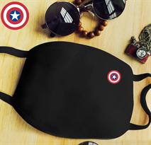 Маска на рот Капитан Америка купить в Москве