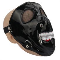Маска Кена Канеки Токийский Гуль (Tokyo Ghoul) с молнией купить в Москве
