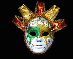 Карнавальная маска шута купить в Москве