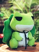Мягкая игрушка Лягушка с шляпой (50 см) купить