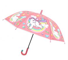 Розовый зонт Единорог на радуге купить в Москве