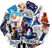 Наклейки Доктор Кто (Doctor Who) 13 сезон 100 штук купить в Москве