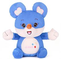 Мягкая игрушка синяя мышь (крыса) купить в Москве