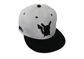 Белая кепка с силуэтом Пикачу (Pikachu) купить в Москве
