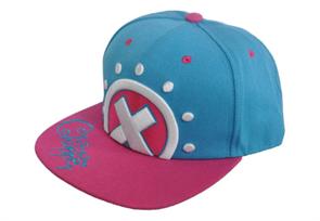 Розово-голубая кепка с артибутикой аниме Ван Пис (One Piece) купить в Москве