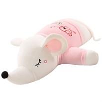 Мягкая игрушка Мышка (крыса) в розовой футболке 100 см купить Москва