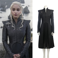 Черный наряд Дайенерис Игра Престолов (Game of Thrones) купить