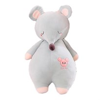 Мягкая игрушка Мышка (крыса) голубого цвета 45 см купить Москва