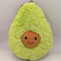 Плюшевая игрушка авокадо (темно- зеленое) 25 см купить