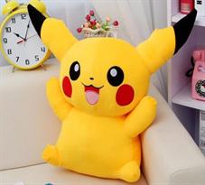Мягкая игрушка большой Пикачу (Pokemon Pikachu) купить в Москве