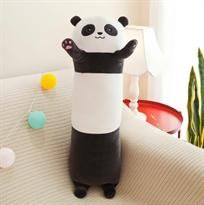Мягкая игрушка подушка Панда 70 см купить в Москве