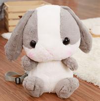 Рюкзак-игрушка Кролик (Цвет Серый) купить в Москве