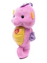 Музыкальная мягкая игрушка-ночник Морской конек (розовый)
