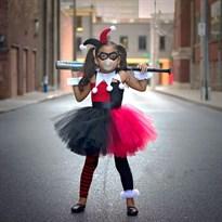 Детский костюм Харли Квин из фильма Отряд самоубийц