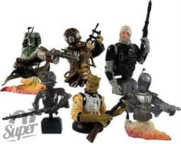 Фигурка Star Wars Bust-Ups Series 3 6-Pack купить