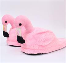 Розовые тапочки Фламинго