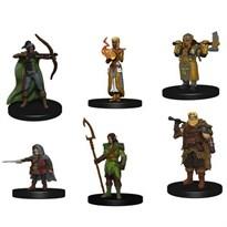 Фигурки из стартового наборы настольной игры Подземелья и Драконы (Dungeons & Dragons)