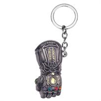 Брелок Перчатка Таноса Мстители (Цвет Серебро) купить в Москве