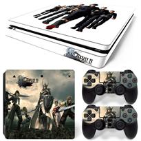Наклейка Последняя Фантазия для PS4 Slim (Final Fantasy) светлая купить в Москве