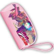 Розовый кошелек Невероятные приключения ДжоДжо (JoJo's Bizarre Adventure) купить в Москве