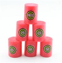 Розовые мягкие мишени в форме цилиндров для бластеров Нерф (Nerf) купить в Москве