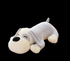 Мягкая игрушка подушка собака 30 см купить в Москве