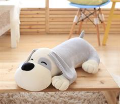 Мягкая игрушка подушка собака 50 см купить в Москве