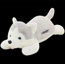 Мягкая игрушка грелка для рук Хаски  (60 см) купить в Москве