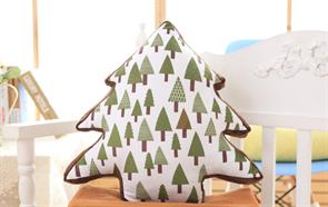 Плюшевая игрушка подушка новогодняя елка купить