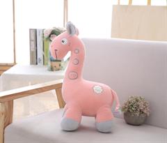 Мягкая игрушка жираф розового цвета 40 см купить в Москве